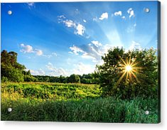 Acrylic Print featuring the photograph Glorious Landscape by Anthony Rego