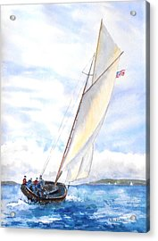 Glorious Sail Acrylic Print
