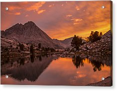 Glorious Sierra Sunset Acrylic Print