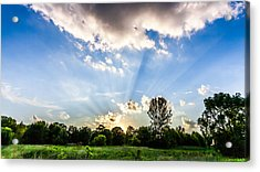 Acrylic Print featuring the photograph Glorious Sky - B by Anthony Rego
