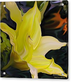 Acrylic Print featuring the painting Glory II by Patricia Griffin Brett