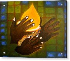 Glory Acrylic Print by Philip Okoro