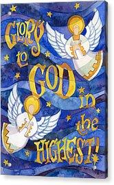 glory to God Acrylic Print