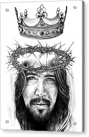 Glory To The King Acrylic Print