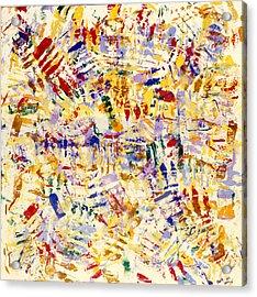 Gloves Acrylic Print by Ken Yackel