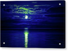 Glow In The Dark Amazing Sunset  Acrylic Print