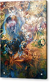 Glow In The Dark Acrylic Print by Dorian Williams