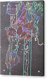 Glow Acrylic Print by Luci Ferguson