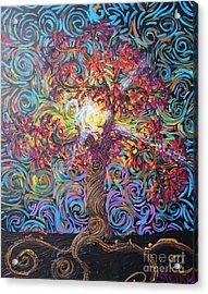 Glow Of Love Acrylic Print