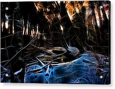 Acrylic Print featuring the photograph Glow River by Michaela Preston