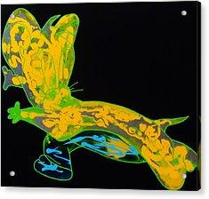 Glow Stick Acrylic Print