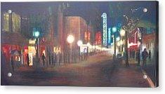Glow Acrylic Print by Victoria Heryet