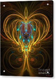 Glowing Chalise Acrylic Print