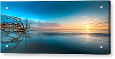 Glowing Dawn Panorama Acrylic Print