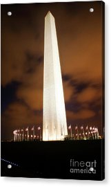 Glowing Monument Acrylic Print