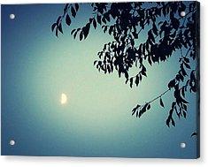 Glowing Moon  Acrylic Print