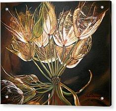 Glowing  Acrylic Print by Sharon Duguay