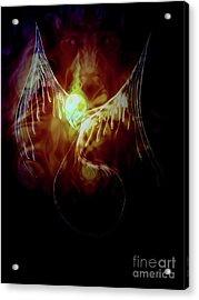 Glowingpixie Acrylic Print