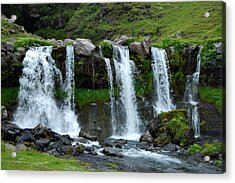 Acrylic Print featuring the photograph Gluggafoss II by Marilynne Bull