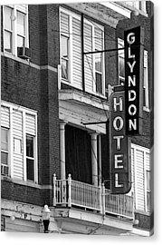 Glyndon Hotel Acrylic Print by David Bearden