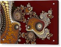 Glynns And Spirals No. 2 Acrylic Print