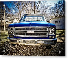 Gmc Pickup Acrylic Print