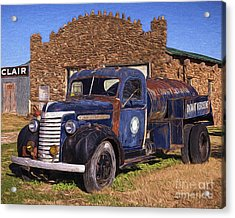 Gmc Tank Truck Acrylic Print