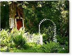Gnome's House Acrylic Print by Robert Nankervis