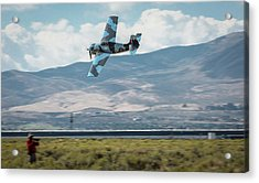 Acrylic Print featuring the photograph Go Fast Turn Left Fly Low Friday Morning Unlimited Bronze Class by John King
