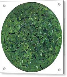 Go Green Acrylic Print by Patty Vicknair