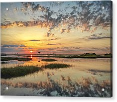 Sunrise Sunset Photo Art - Go In Grace Acrylic Print
