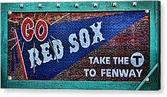 Go Red Sox Acrylic Print