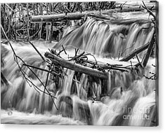 I Will Send Streams Acrylic Print by Dennis Wagner