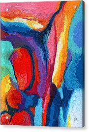 Go With The Flow Acrylic Print by Stephen Anderson