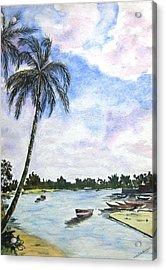 Goa Acrylic Print by Monika Deo
