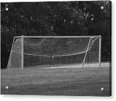 Goal Acrylic Print by Michael L Kimble