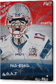 Goat Brady Acrylic Print