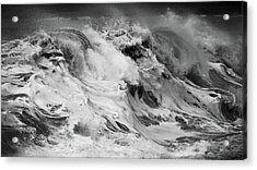 Goat Rock Beach Acrylic Print by Lennie Green