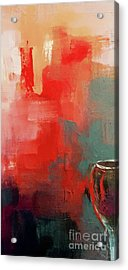 Goblet Abstract  Acrylic Print by Lisa Kaiser