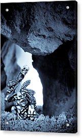Goblin Shaman Acrylic Print by Marc Garrido