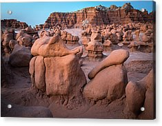 Goblin Valley Rock Formations Acrylic Print