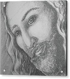 God Became Man Acrylic Print