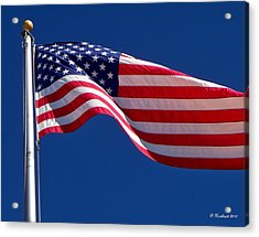 God Bless America Acrylic Print by Betty Northcutt