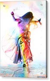 God Colors Acrylic Print