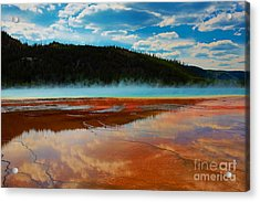 Acrylic Print featuring the photograph God Is by Robert Pearson