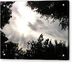 God Is With Us Acrylic Print by Len Barber