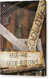 God Loves Beer  Acrylic Print by Steven Digman