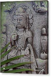 God Shiva Acrylic Print by Susanne Van Hulst