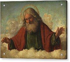 God The Father Acrylic Print by Cima da Conegliano