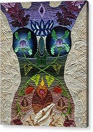 Godbody Acrylic Print by Arla Patch